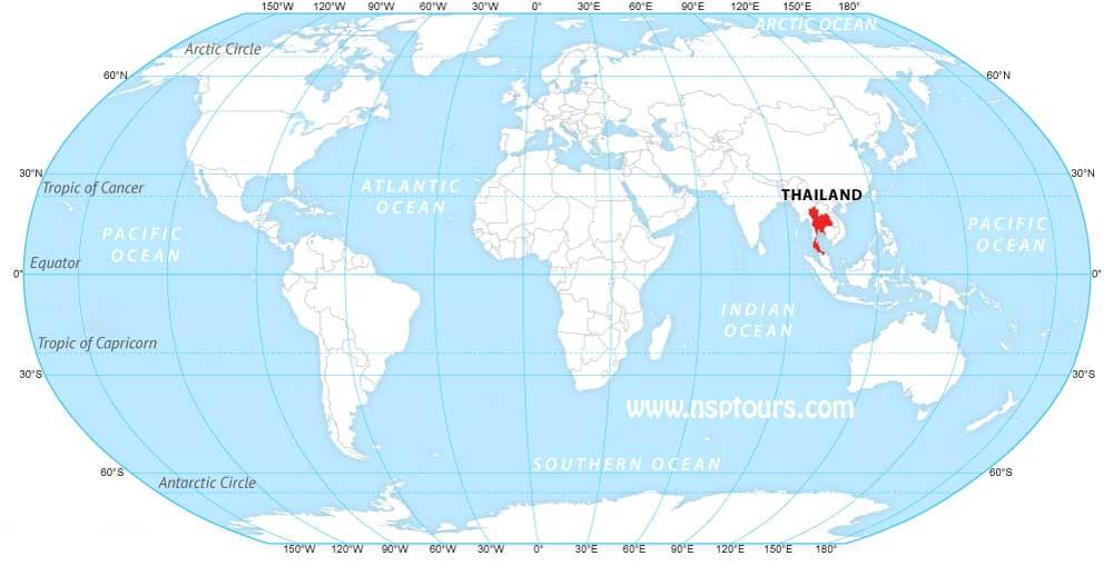 Thailand-Location